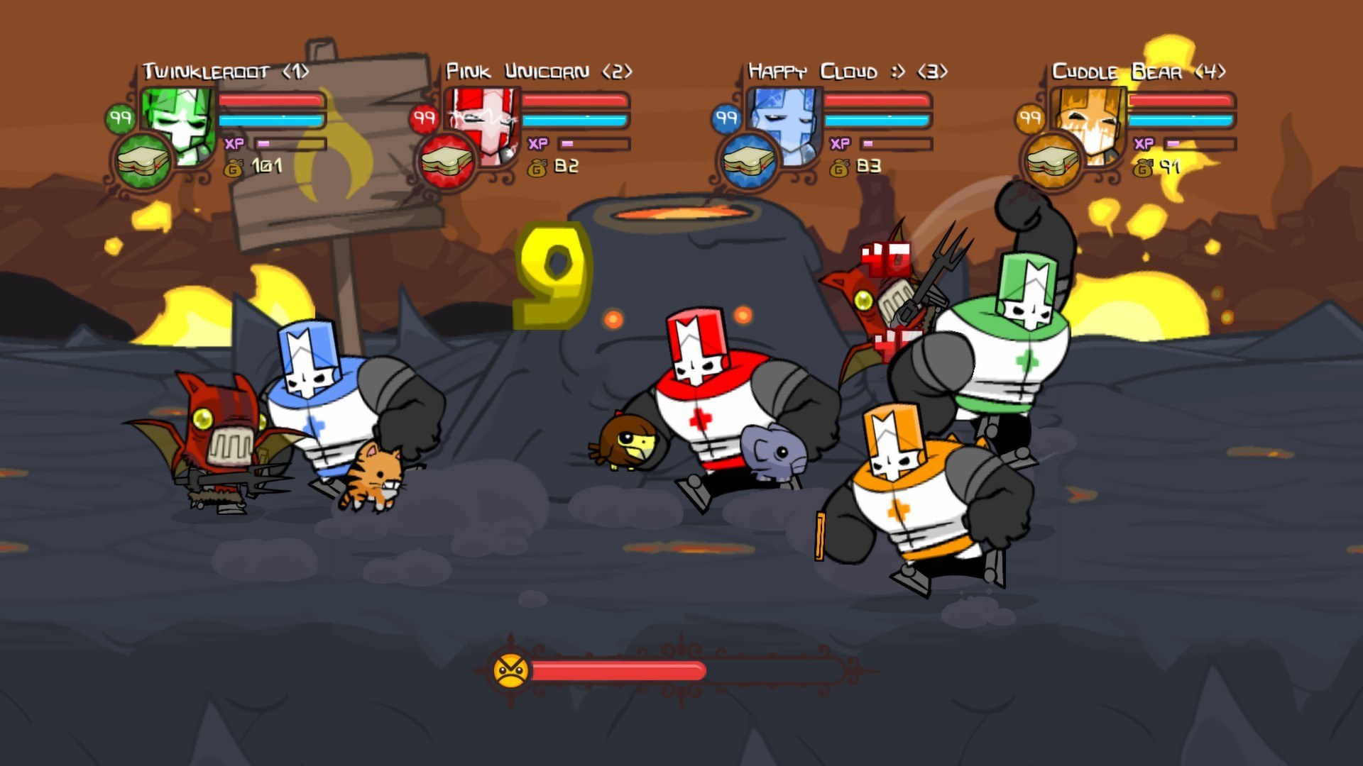 CASTLE CRASHERS (STEAM GIFT | RU+CIS)
