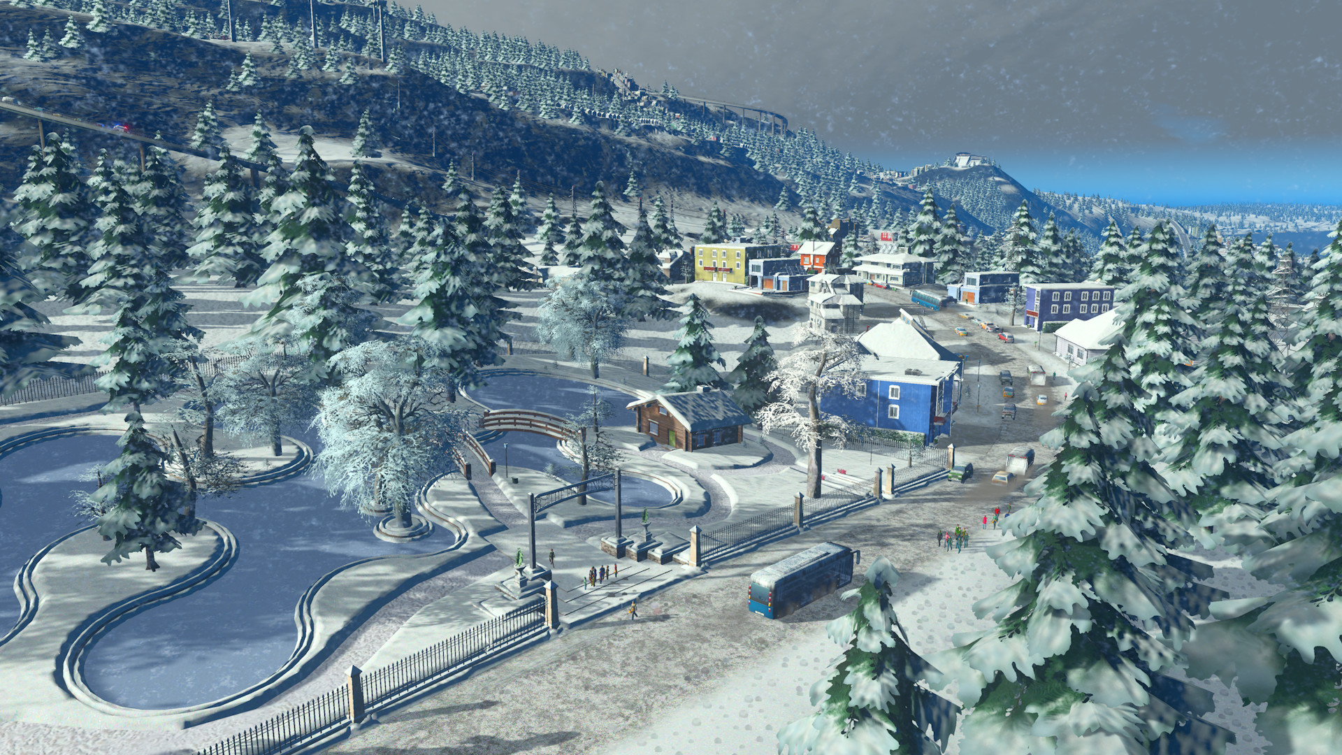 Cities: Skylines - Snowfall (STEAM GIFT | RU+CIS)
