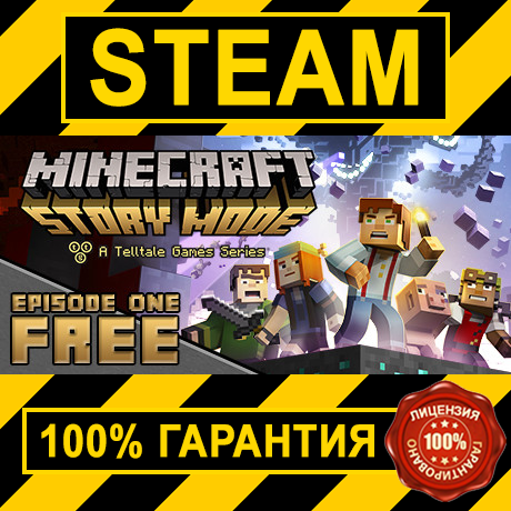 Minecraft Story Mode A Telltale Games Series Steam/Gift