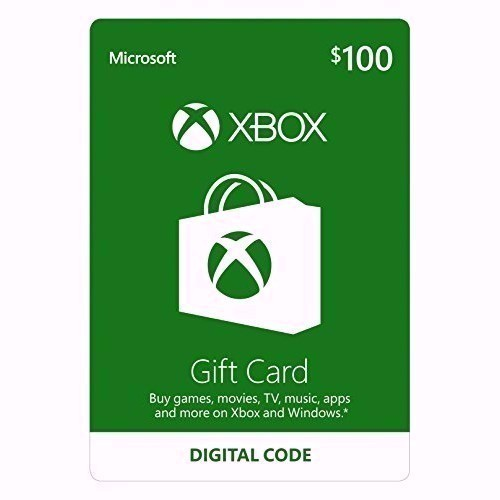 XBOX LIVE $100 PREPAID CARD US (CODE FROM CARD)