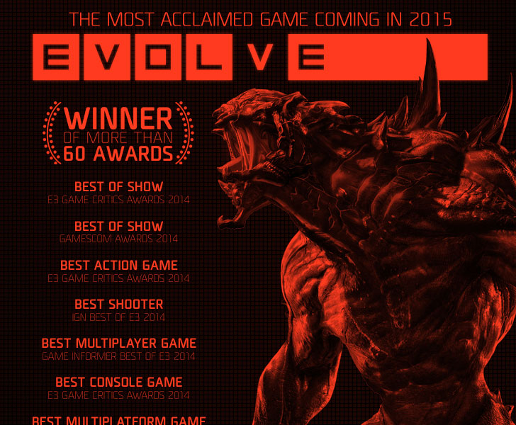 EVOLVE: Digital Deluxe Edition Steam KEY Rgion Free