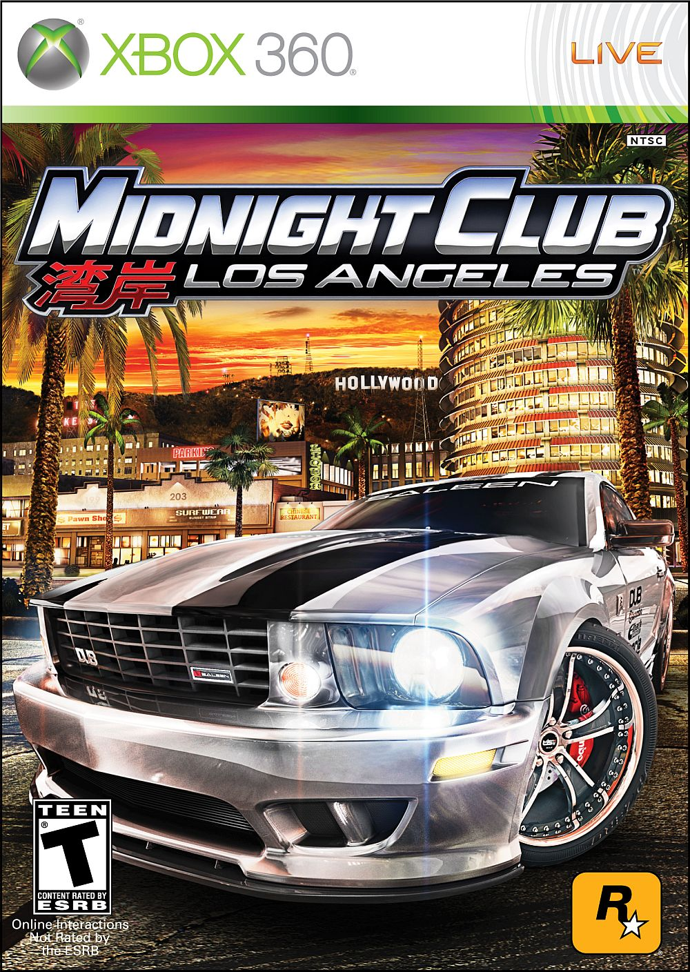 Midnight Club: LA, Enslaved, Metro 2033  Xbox 360