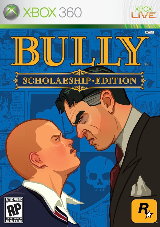 Bully Scholarship Ed., Boxing Fight + 4 игры Xbox 360