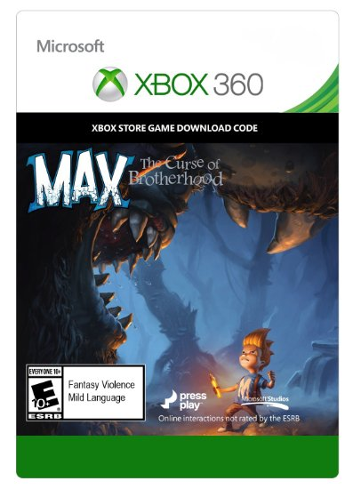 Max:The Curse of Brotherhood ГИФТ XBOX 360