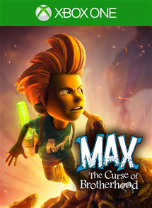 Max:The Curse of Brotherhood ГИФТ XBOX ONE