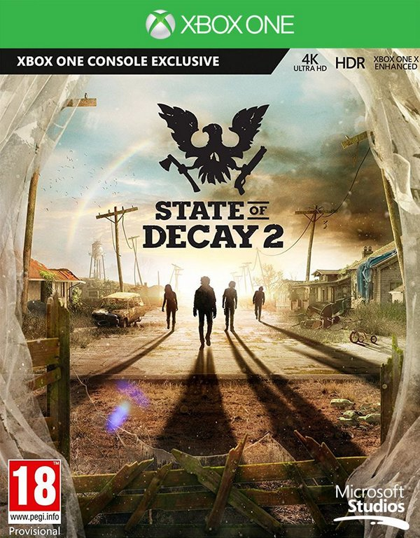State of Decay 2,Far Cry 5,Vampyr,Kingdom Come XBOX ONE