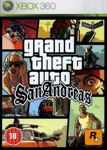 GTA 5, GTA 4, GTA: San Andreas, MX vs ATV Alive Xbox360