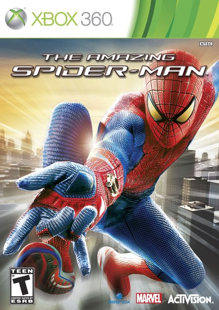The Amazing Spider-Man 1 и 2+3 игры (рус)  XBOX 360