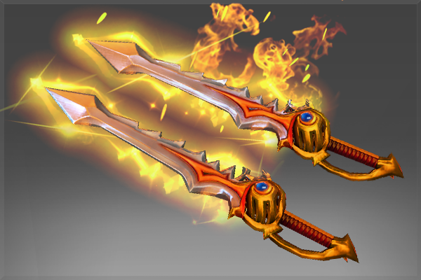Dota 2 - Genuine Rapiers of the Burning God
