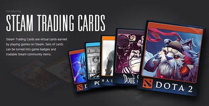 Collectible cards Steam (trading cards) to choose from