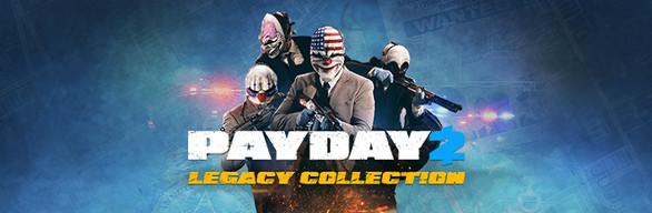 Фотография payday 2: legacy collection (steam key / region free)