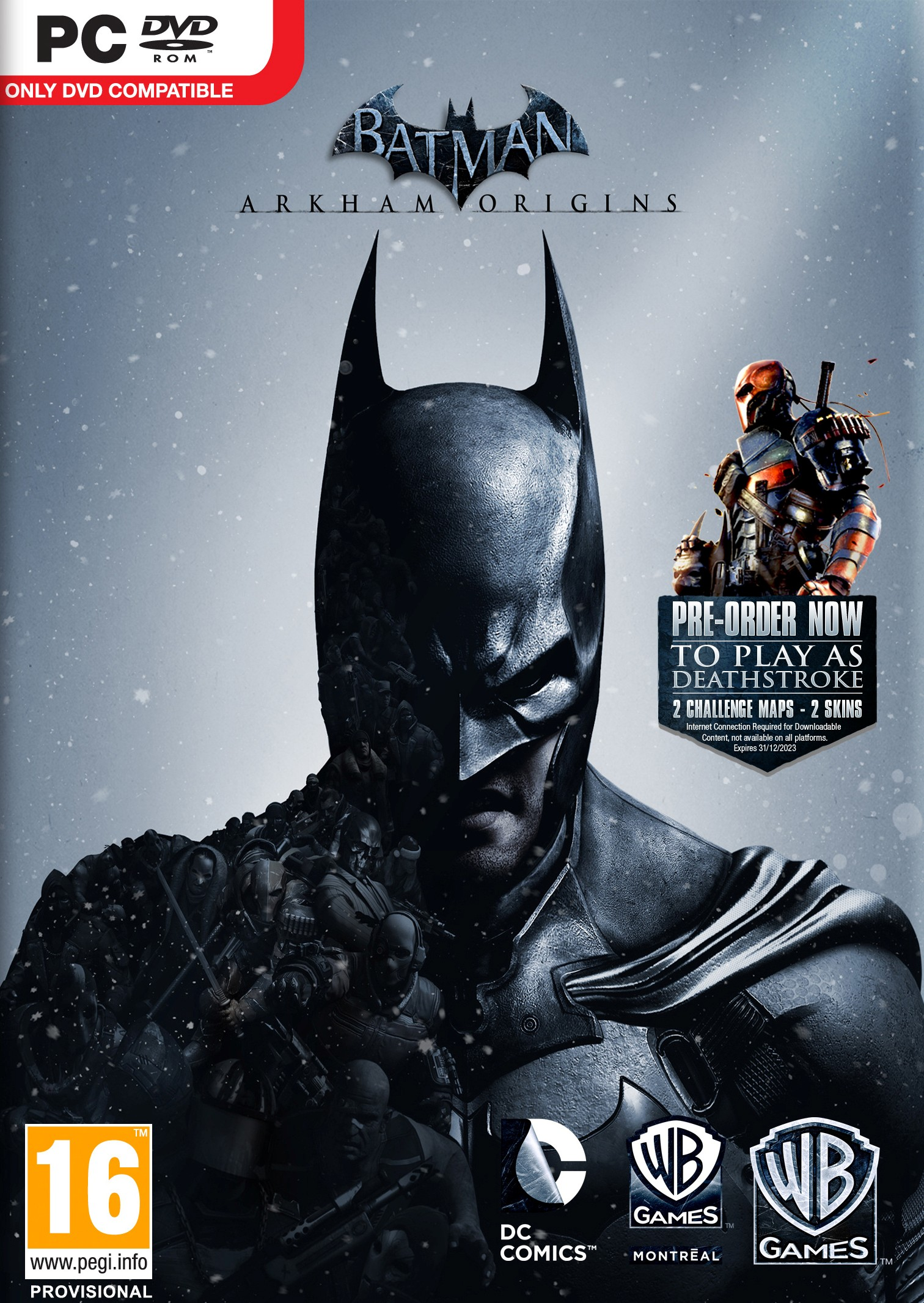 Batman: Arkham Origins STEAM CD-KEY RU