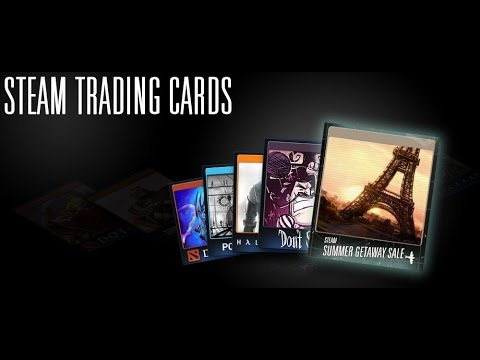 Sets of cards Steam + 100 XP (Steam Trading Cards)