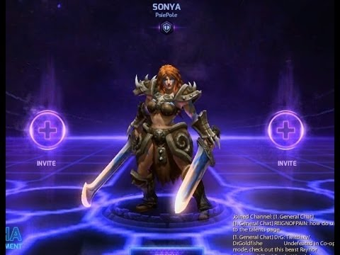 Hero Sonya for Heroes of the Storm (Battle.net/RegFree)