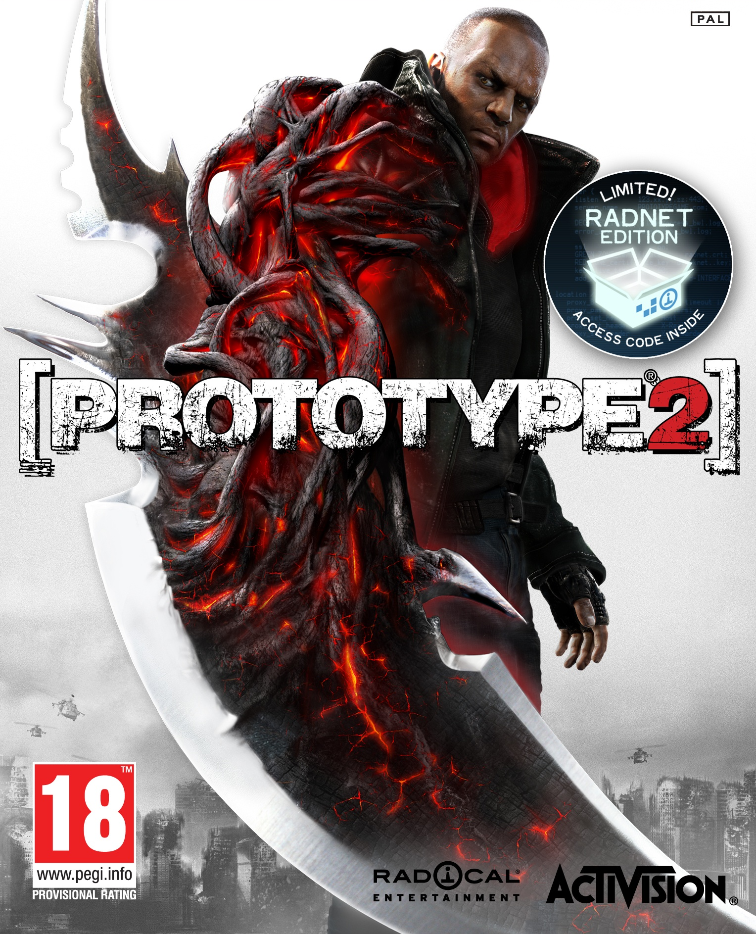 Prototype 2 + DLC Radnet  (Steam Key) + ПОДАРОК