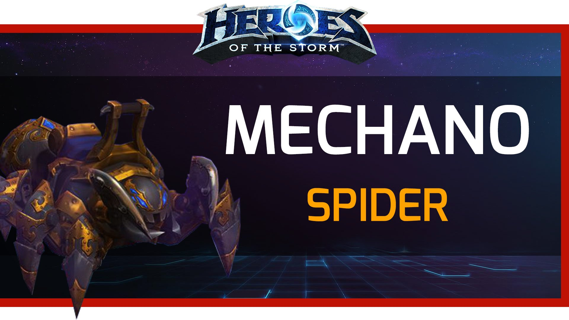 Mechanospider Mount for Heroes of the Storm (RegFree)