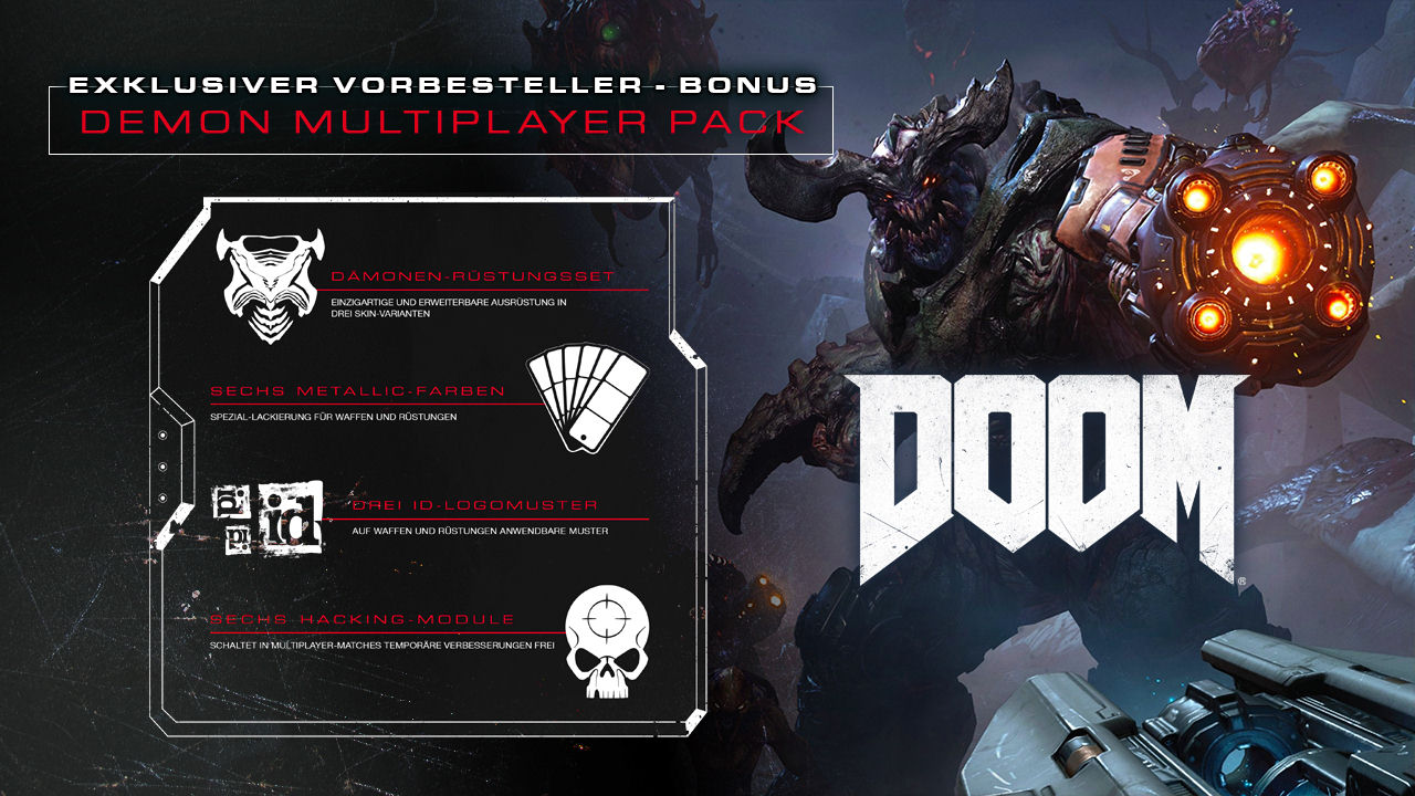 DOOM - DLC DEMON PACK / STEAM / REGION FREE + ПОДАРОК