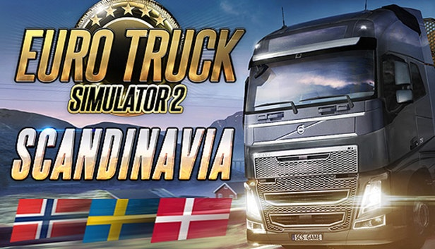 Euro Truck Simulator 2 - Scandinavia (Steam) + GIFT