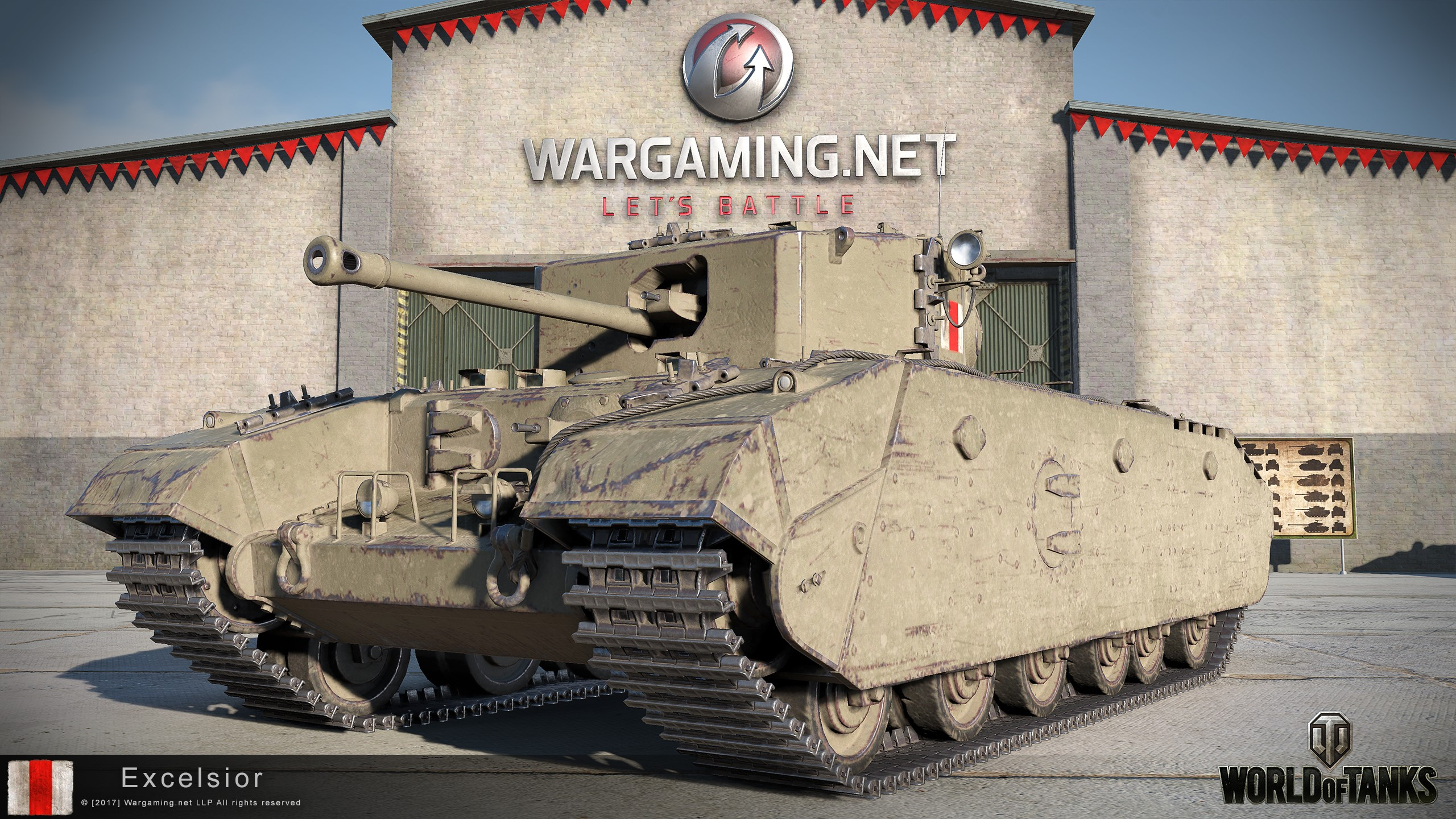 Invite \ WoT - Excelsior + 1500 Gold + 10 Days PA 2019