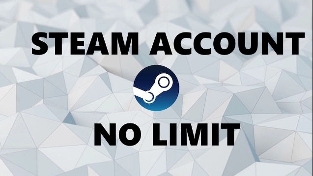 Steam No Limit (SDA) 10+ LVL STEAM +50 GAMES + WARRANTY