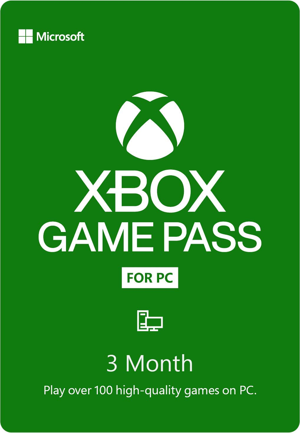 Xbox Game Pass PC на 3 месяца (Region Free + Cashback)