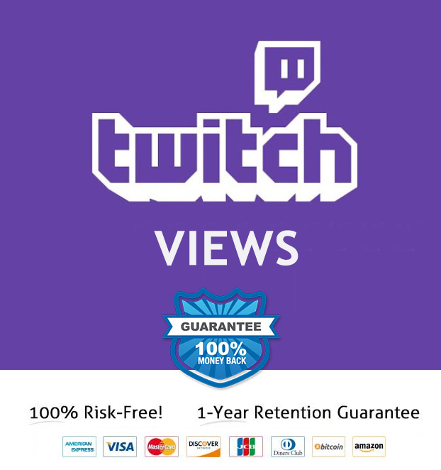 Twitch Views | FAST DELIVERY+ CASHBACK