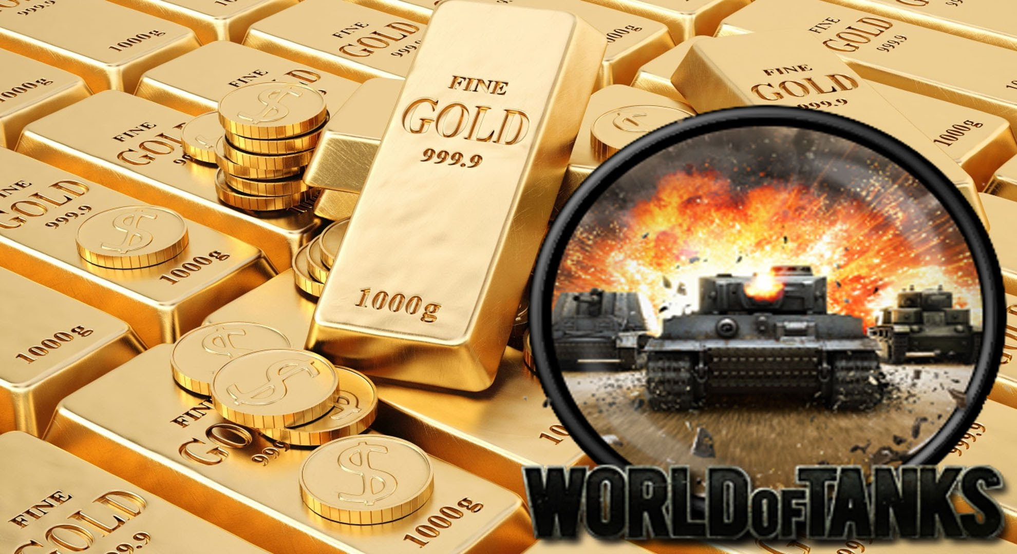 World of Tanks (WOT)  Gold | -20% of the Price |