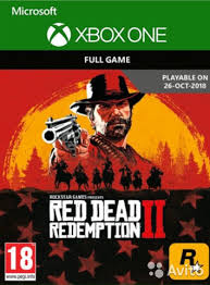 RED DEAD REDEMPTION 2 | XBOX One | Numeric Code / KEY
