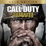 CALL OF DUTY: WWII - Gold Edition | XBOX ONE | KEY