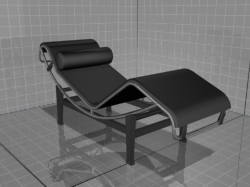 3D models of furniture, chair, chaise Tekno