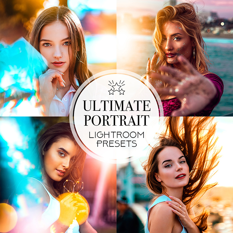 portrait presets for Lr pc and mobile by Mark Singerm