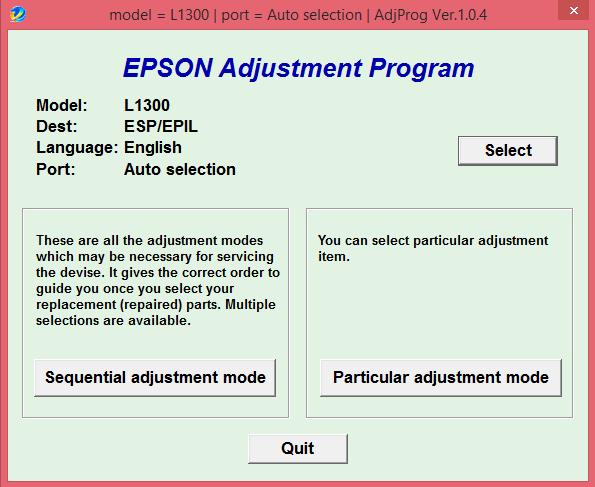 epson сброс памперса программа