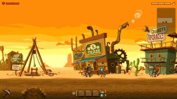 SteamWorld Dig (HB STEAM / Region Free ) + БОНУС