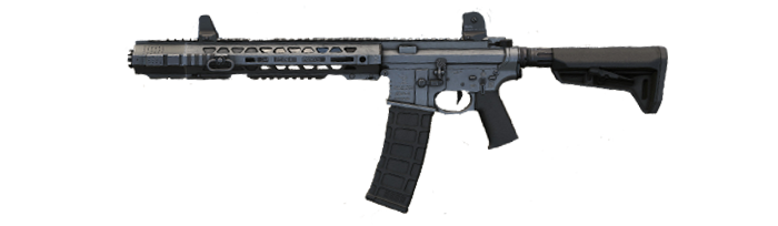 Warface 27 Bloody X7 macros SAI GRY AR-15