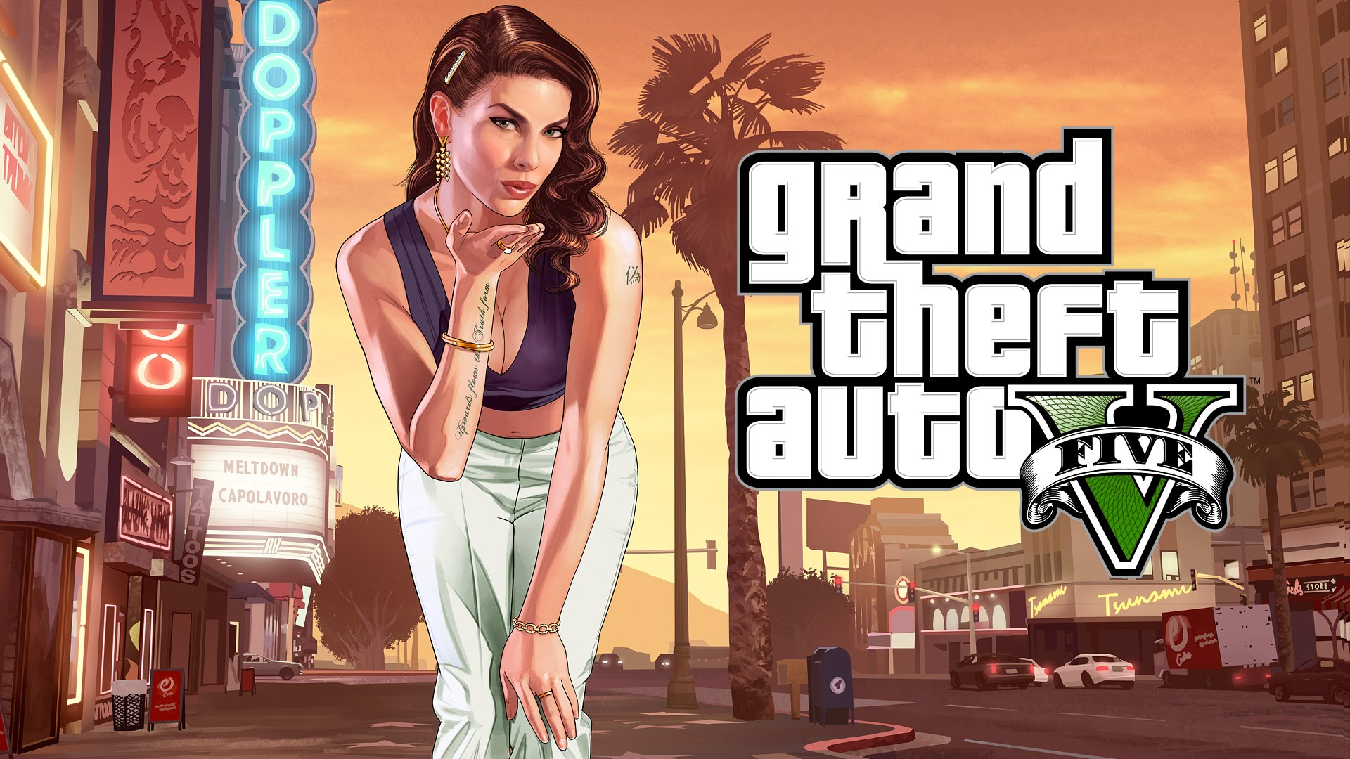 Grand theft auto V 5 (STEAM GIFT / ROW / REGION FREE)