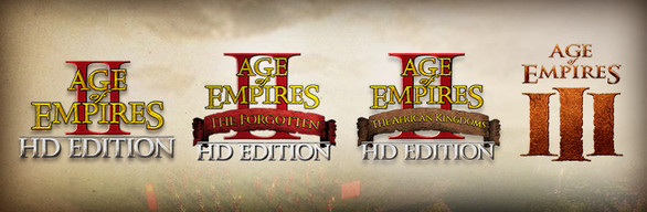 Age of Empires Legacy Bundle (II HD + III + DLC) STEAM