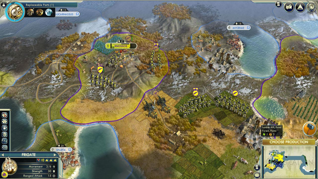 Sid Meier´s Civilization V (STEAM GIFT / RU/CIS)