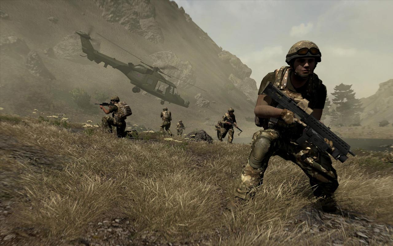 Arma 2: British Armed Forces (DLC) STEAM KEY / ROW