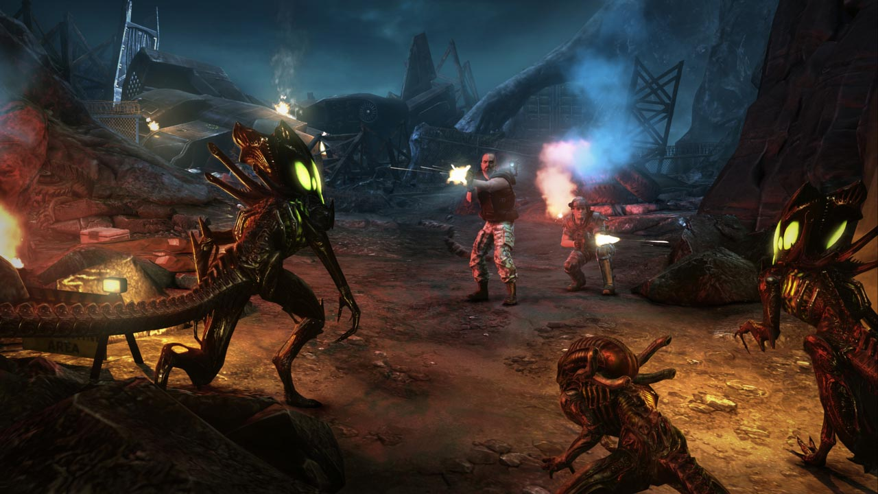 Aliens Collection: vs Predator + Colonial Marines + DLC