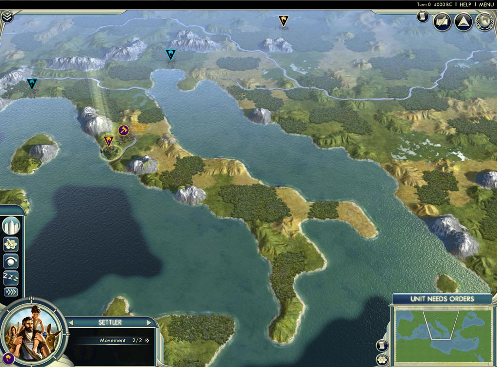 Civilization V: Cradle of Civilization DLC Bundle STEAM