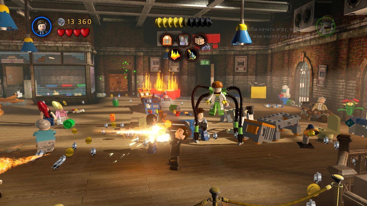 LEGO Marvel Super Heroes (STEAM GIFT / RU/CIS)