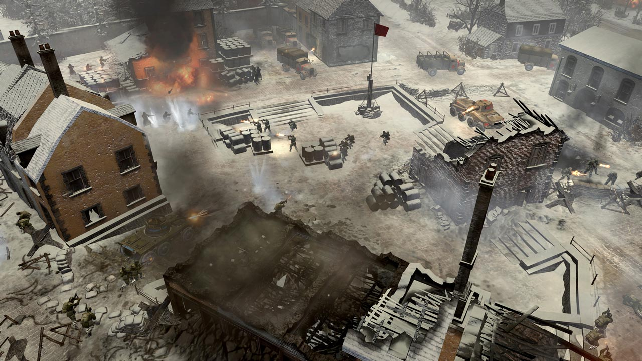 CoH 2 Ardennes Assault: Fox Company Rangers (DLC) STEAM