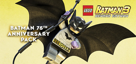LEGO Batman 3 Beyond Gotham DLC Batman 75th Anniversary