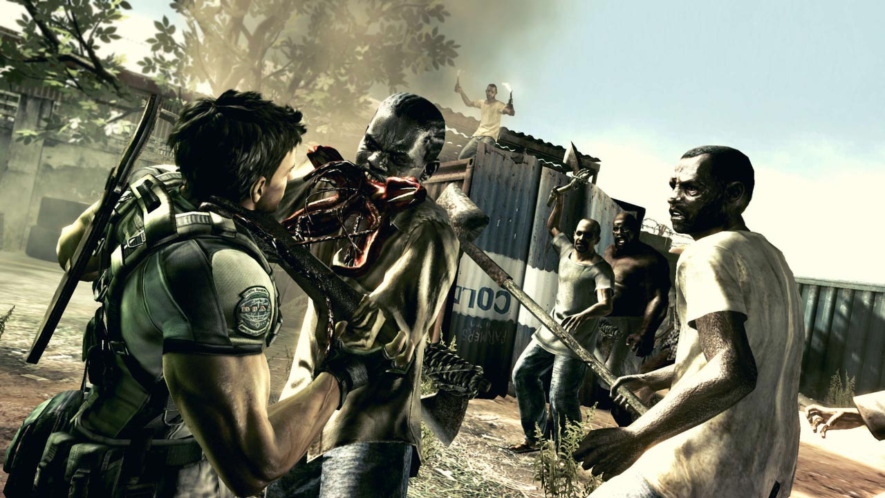 Resident Evil 5 / Biohazard 5 (STEAM GIFT / RU/CIS)