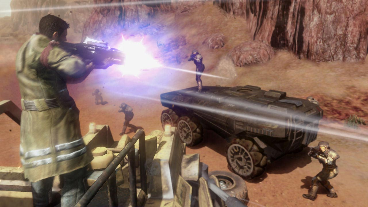 Red Faction Guerrilla + Re-Mars-tered (STEAM KEY)