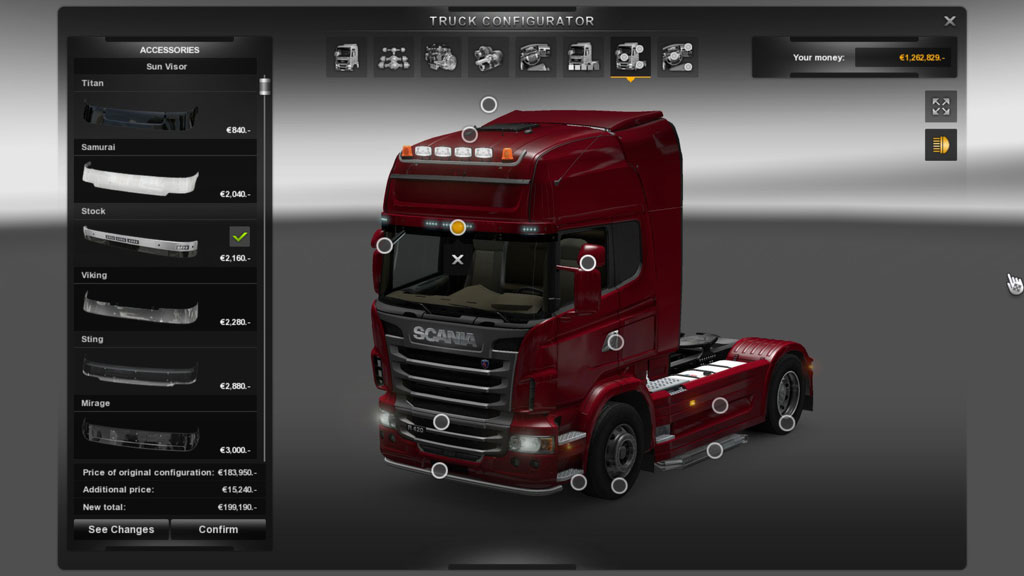 Euro Truck Simulator 2 + Going East! + 7 DLC (STEAM)
