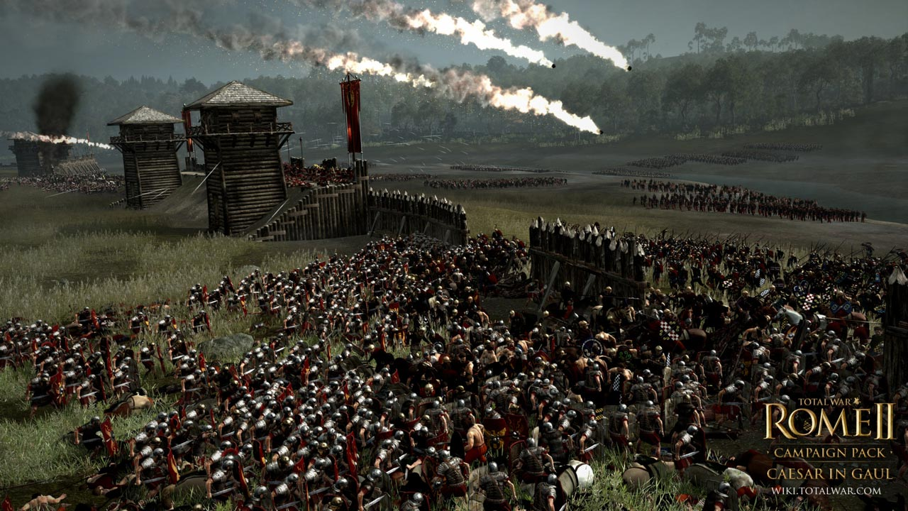 Total War: ROME II Caesar in Gaul Campaign Pack (STEAM)