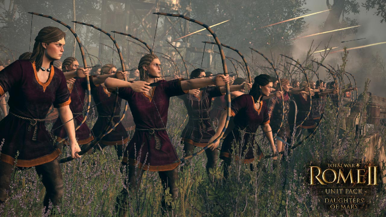 Total War: ROME II Daughters of Mars Unit Pack (STEAM)