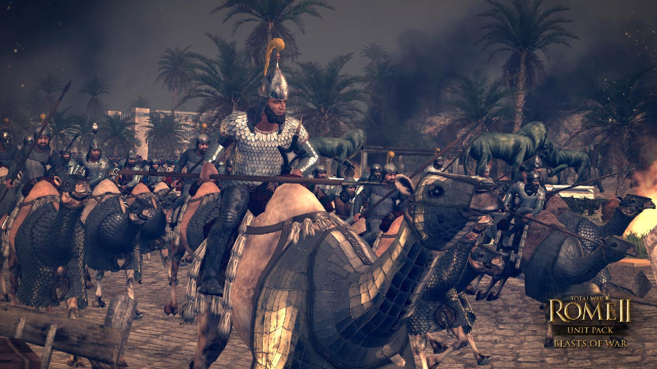 Total War: ROME II - Beasts of War Unit Pack (STEAM)