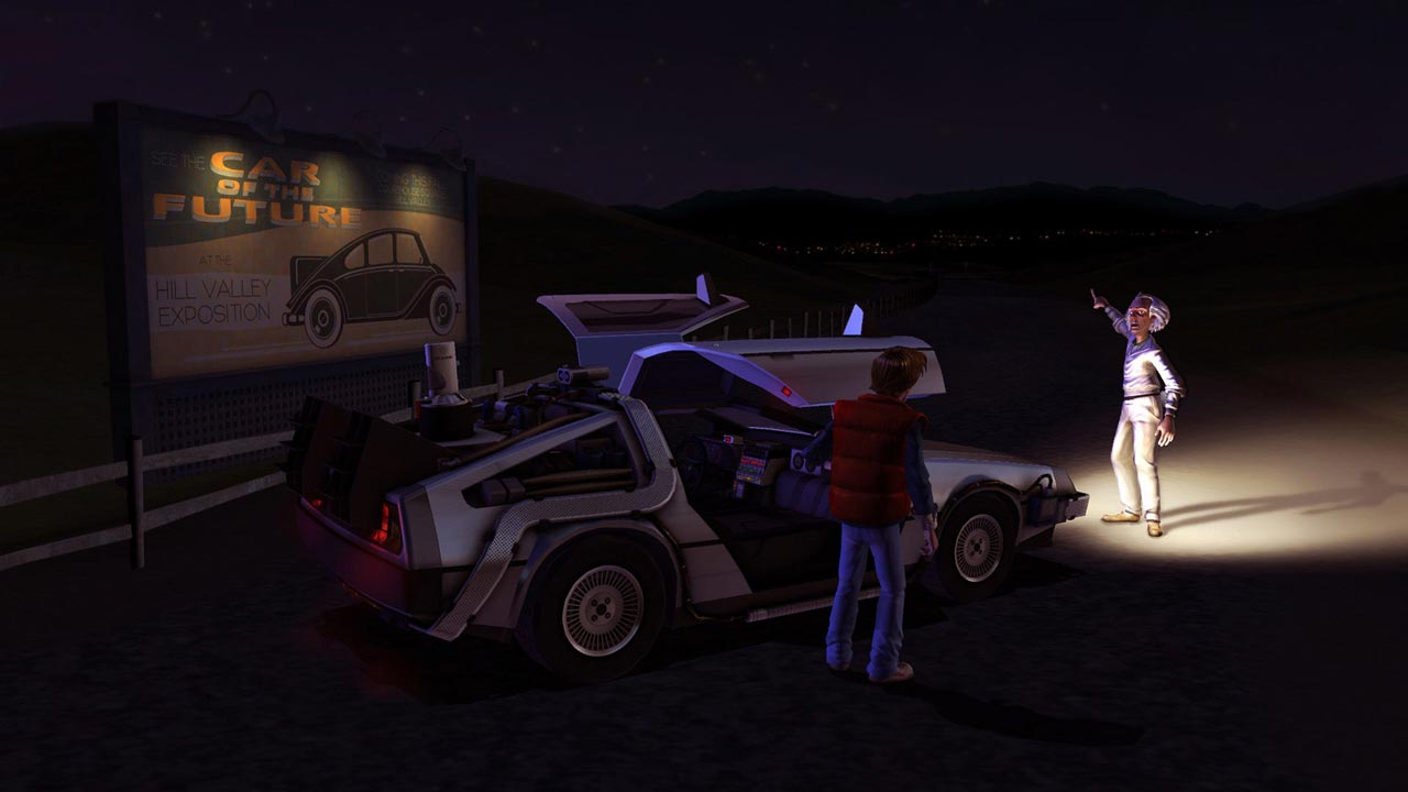 Back to the Future: The Game (STEAM KEY / ROW)